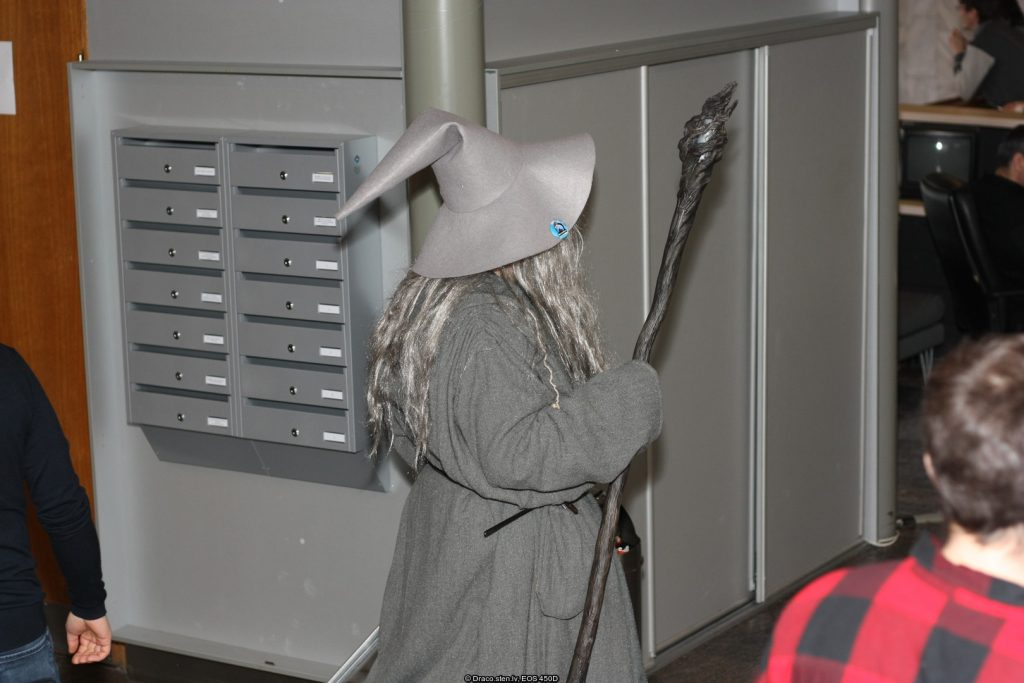 WinterCon Gandalf CosPlay